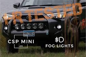 4runner Led Fog Lights 2014 2019 Toyota 4runner Gtr Lighting Csp Mini Led Fog Lights
