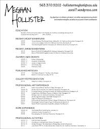 Lovely Fine Arts Resume Template And Performing Arts Resume