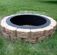 luxury in ground fire pits for square paver pit backyard designs simple