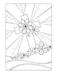 Religious Coloring Pages Printable Easter Sheet Bible For Toddlers
