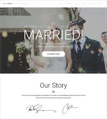 Wedding Website Template Stunning 28 Wedding Website Themes Templates Free Premium Templates