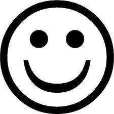 Kleurplaat Smiley