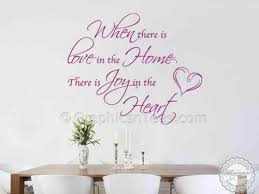 inspirational family wall sticker love