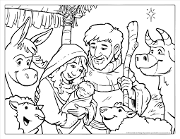 Small Picture Jesus Christmas Pictures Draw christmas nativity scene with holy