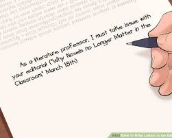 patriotexpressus sweet images about resume letters patriotexpressus heavenly how to write letters to the editor pictures wikihow amazing image titled