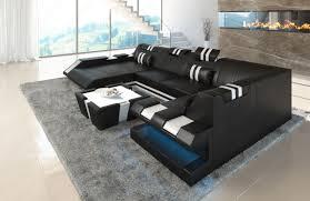Sofa Wohnlandschaft Apollonia In U Form Mit Verstellbaren