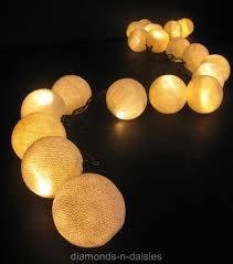ball fairy lights. image is loading white-cotton-ball-led-string-fairy-lights-lanterns- ball fairy lights e