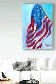 americana wall art arts contemporary cool and trendy patriotic interior design flag decor outdoor black white americana wall art