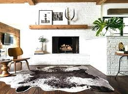 cow skin rug luxury cowhide rug decor for design inspiration rugs an ordinary weekend cowhide rug