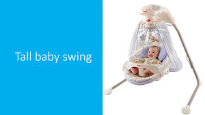 Tall baby swing.mp4 - YouTube