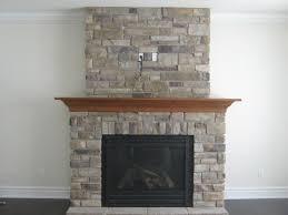 stone stone gray fireplace