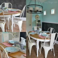 white metal furniture. White Metal Farmhouse Style Chairs For The Kitchen Furniture M