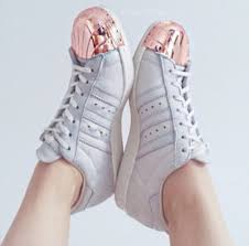 adidas shoes pink and gold. shoes adidas superstar superstars rose gold beige with pink metal toe metallic and e