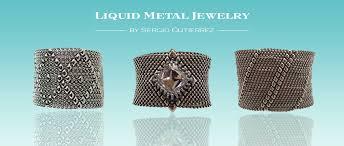 liquid metal jewelry photos