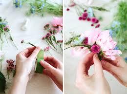 Diy Romantická čelenka Z živých Květů Krásnácz Holky Holkám