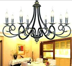 t8531 rustic wrought iron candle chandelier the collection 6 arm candle chandelier antique cast iron candlestick
