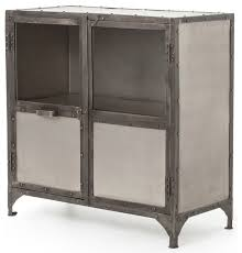industrial storage cabinet with doors. Fine Doors Fronzoni Industrial Loft Wide Metal Shoe Locker Style Sideboard With Storage Cabinet Doors E