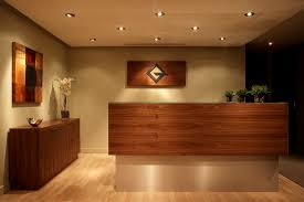 office reception. Exellent Reception Renovation Of A Real Estate Companyu0027s Downtown Office Reception Desk And  Waiting Area Inside Office Reception P