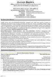 Contract Specialist Resume Example Examples Of Resumes How To Write
