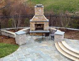 image of build outdoor fire pit chimney