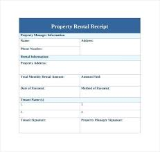 printable rent receipt template printable rent receipt template printable rental receipts kinoroom