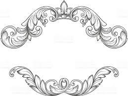 black vintage frame design. Vintage Label Frame Design Elements Royalty-free Stock Vector Art Black A