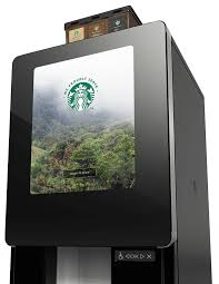 Starbucks Vending Machine Business Stunning Starbucks Branded Solutions Premium Self Serve