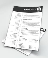 Best Modern Clean Resume Design 013 What Are The Best Resume Templates For Software Template