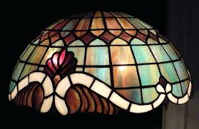 stain glass lamp pattern stained baroque by books