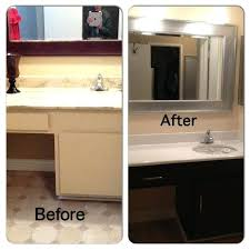 can you paint formica cabinets painting cabinets before and after pictures painting laminate bathroom cabinets paint