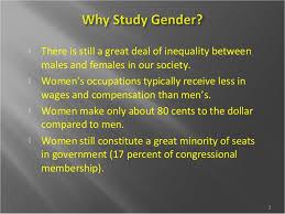 gender stratification updated