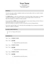Resume Onlineesume Maker Free Design Collection Ideas Photo