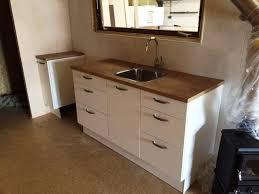 tiny house fridge. The Kitchen Includes A Fridge/freezer, Sink, Full Cooker, And An Tiny House Fridge