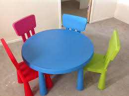 ... Colorful Creativity Table And Chairs For Kids Ikea Modern Interior Room  Collection Simple