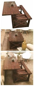 furniture do it yourself. DIY Lift Top Coffee Table - Rustic X Style Furniture Do It Yourself