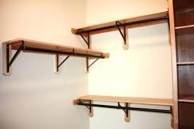 angled wall shelves wall shelving brackets angled wall shelves image of closet rod bracket for angled