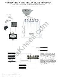 wiring diagram for direct direc genie client directv swm setup power installation diagram wiring 5 dish switch directv swm setup 16