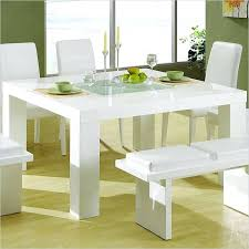glossy white surface and ultra minimalist kitchen dining sets large