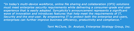 Emc Quote Impressive EMC Syncplicity Extends Leadership In Enterprise File Sync And Share
