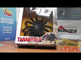 Распаковка паука Тарантул 781 на пульте управления - YouTube