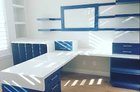 painted office furniture. Custom Built In Home Office Furniture Painted