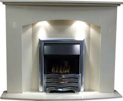 marble fireplace and gas fire