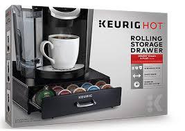 keurig storage drawer for k cup pods 1 unit