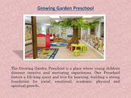 growing garden preschool n