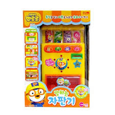 Vending Machine Toy Best Pororo Talking Vending Machine Toy Korean Character Baby Kids Gift