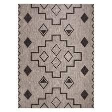 all weather indoor outdoor modern tribal rug eclecticgoods com