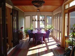 3 Season Porch Family Room And New Kitchen  Traditional Three Season Porch