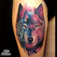 тату эскиз волк тату волки тату хищники