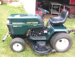 used craftsman garden tractor parts