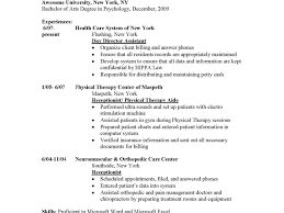 Entry Level Resume No Experience Health Information Management Resume Objective Director Sample 69
